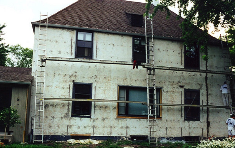 Stucco Repair from Castino Painting and Home Services